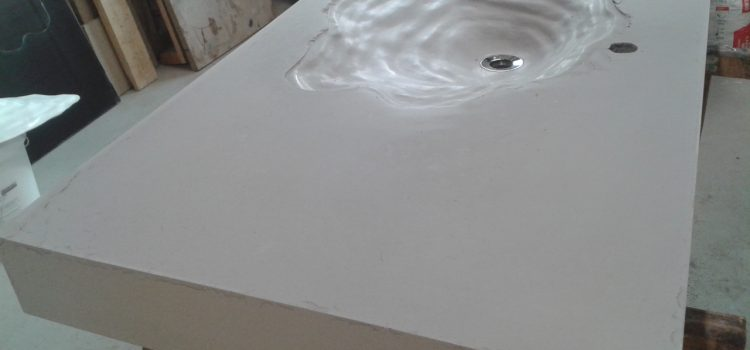 Mise en oeuvre du GFRC (ou CCV – Composite Ciment Verre)