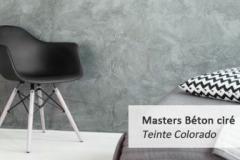 Masters Béton Ciré (teinte colorado)