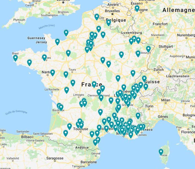Applicateurs de bétons décoratifs en France par Création Sud