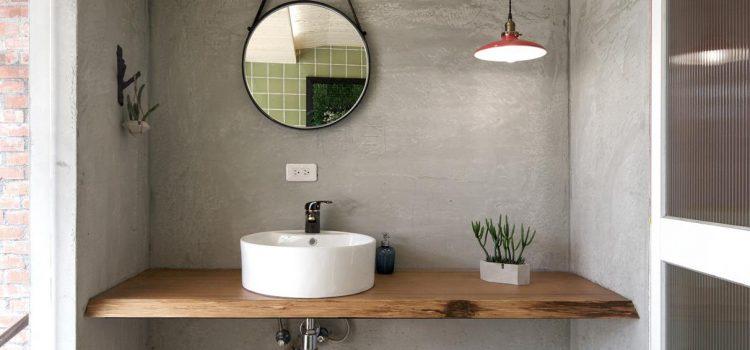Refaire sa salle de bain en béton ciré